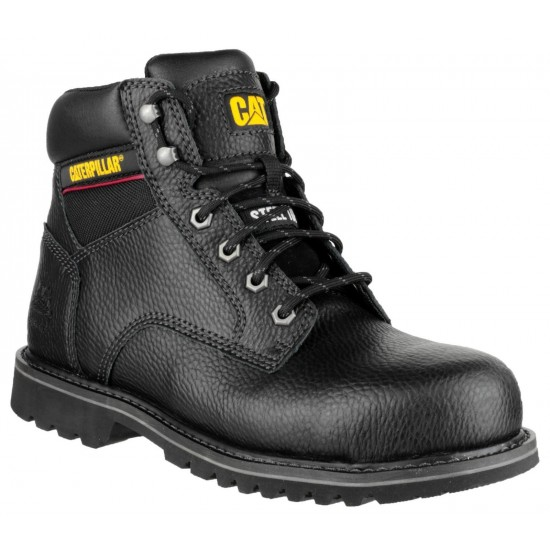 """CAT Black Electric 6"""" Safety Boot"""