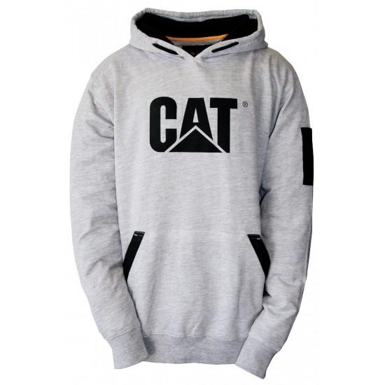 CAT Birch Heather Lightweight Tech Hooded Shirt
