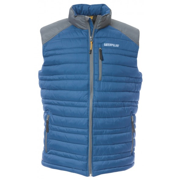 CAT Blue Defender Insulated Vest