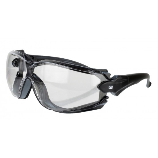 CAT Clear Torque Safety Glasses