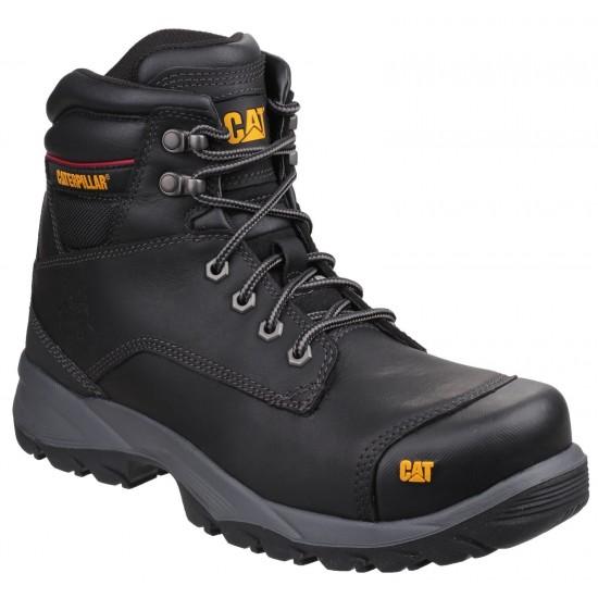 CAT Black Spiro Safety Boot