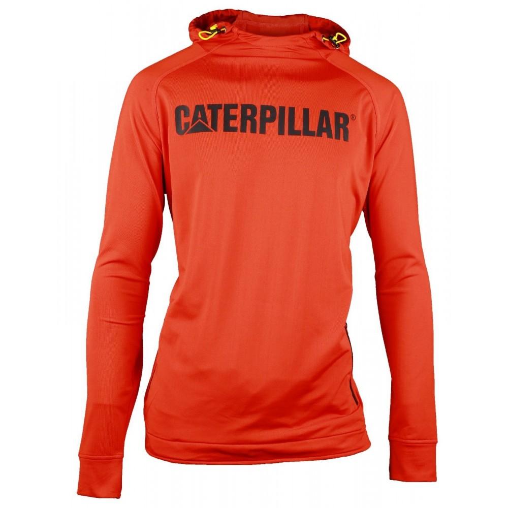 CAT Adobe Orange Contour Pullover Sweatshirt