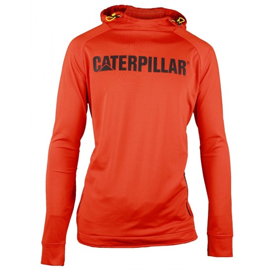 CAT Adobe Orange Contour Pullover Sweatshirt