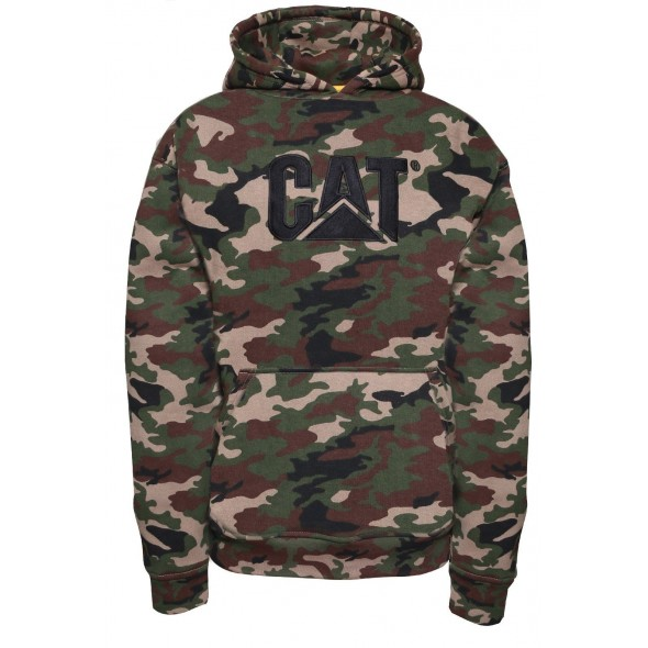 CAT Camouflage Trademark Sweater