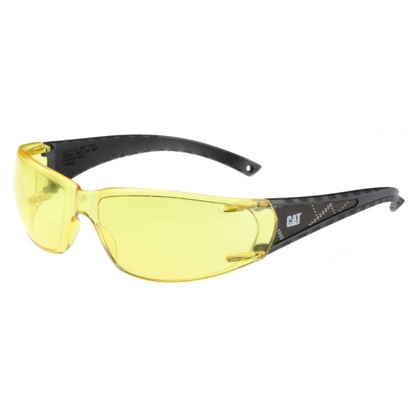 CAT Yellow Blaze Safety Glasses