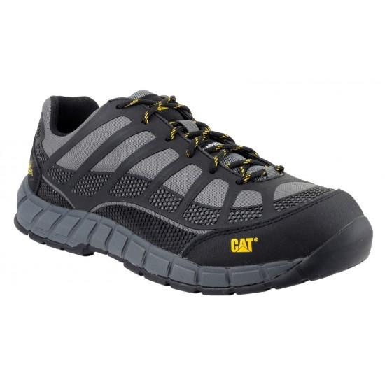 CAT Charcoal  Streamline Safety Shoe