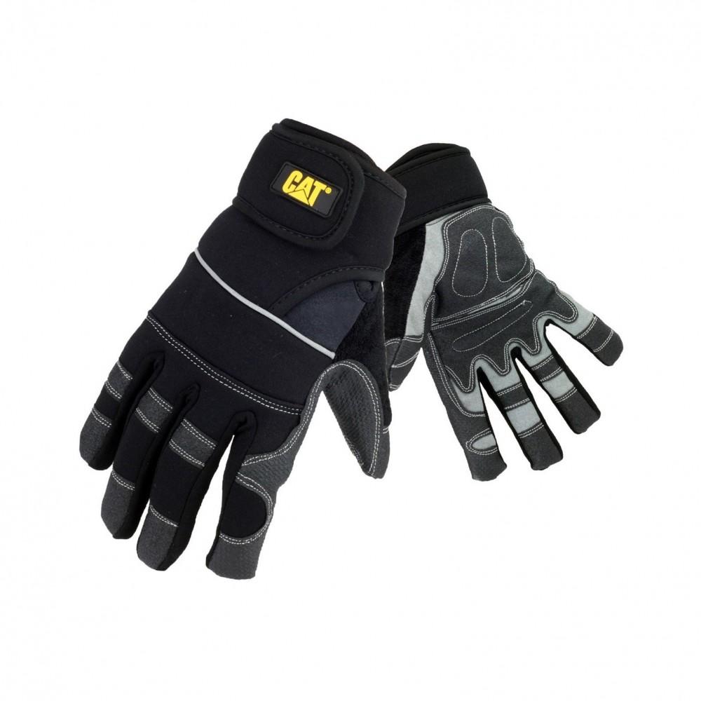 CAT Black Adjustable Glove