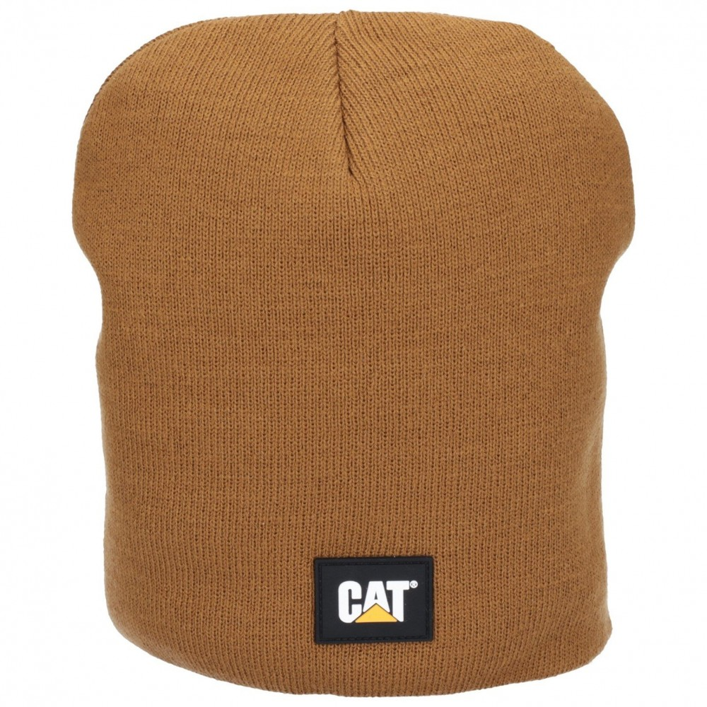 CAT Bronze Logo Knit Cap
