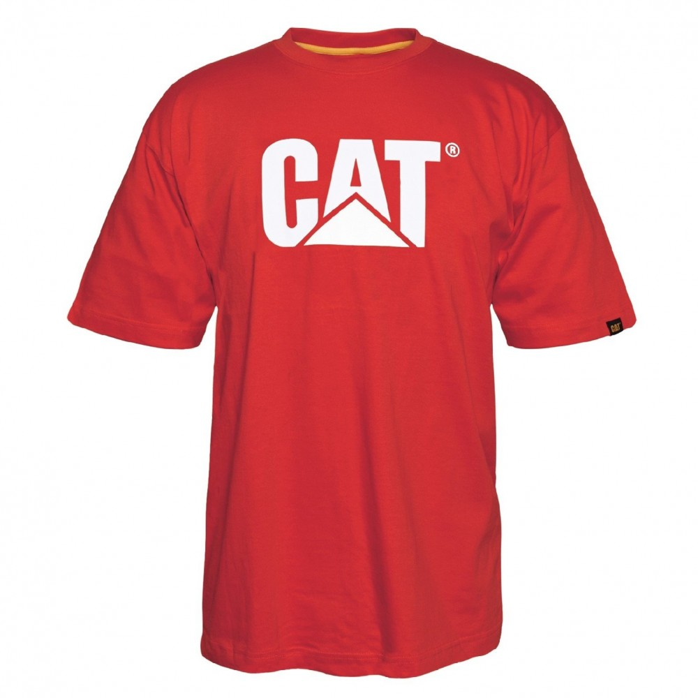 CAT Red Tide Trademark Logo T-Shirt