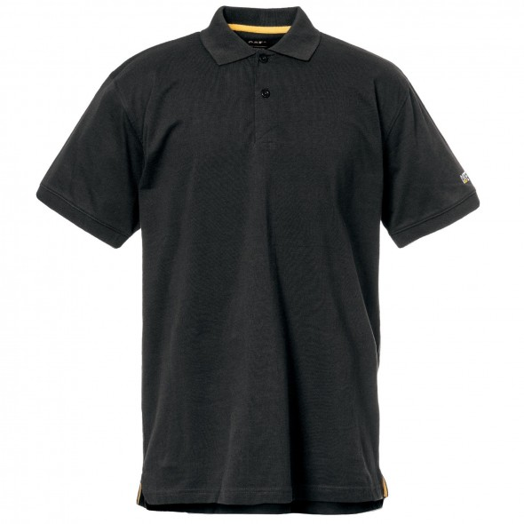 CAT Black Classic Polo Shirt