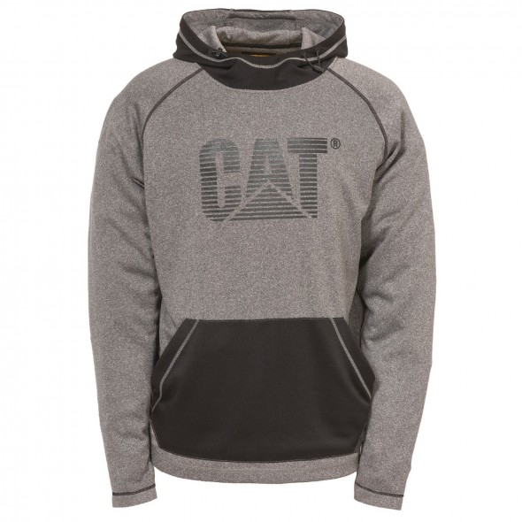CAT Dark Heather Grey Endurance Hoodie