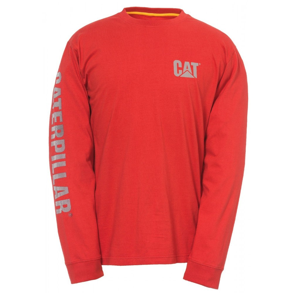 CAT Red Custom Banner T-Shirt