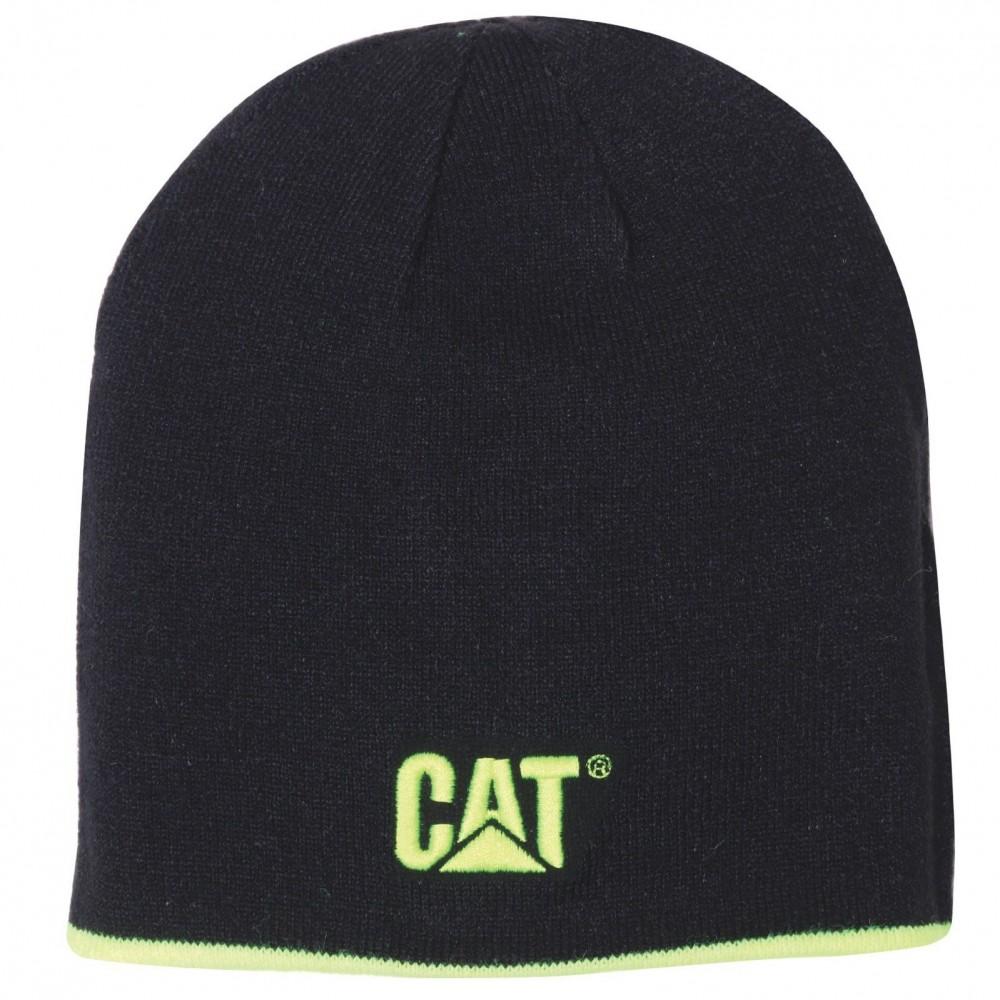 CAT Black Reversible Logo Cap