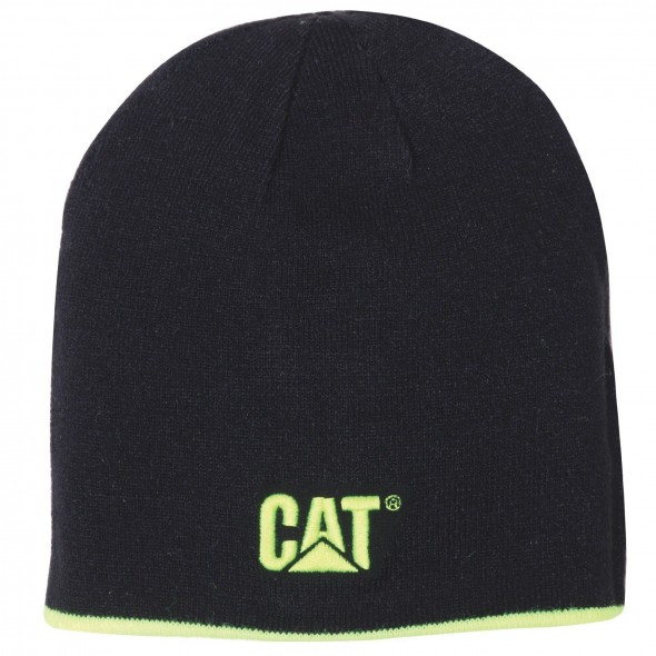 CAT Black Reversible Logo Cap