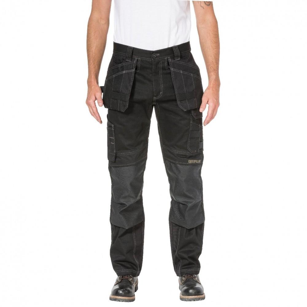 CAT Black Floor Layer Flex Trouser