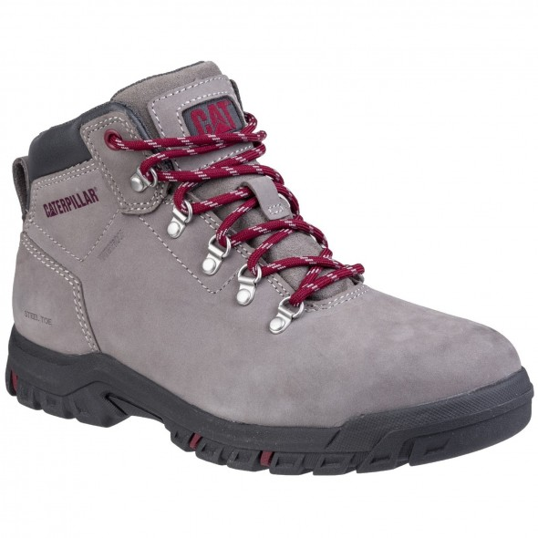 CAT Grey Mae Lace Up Safety Boot