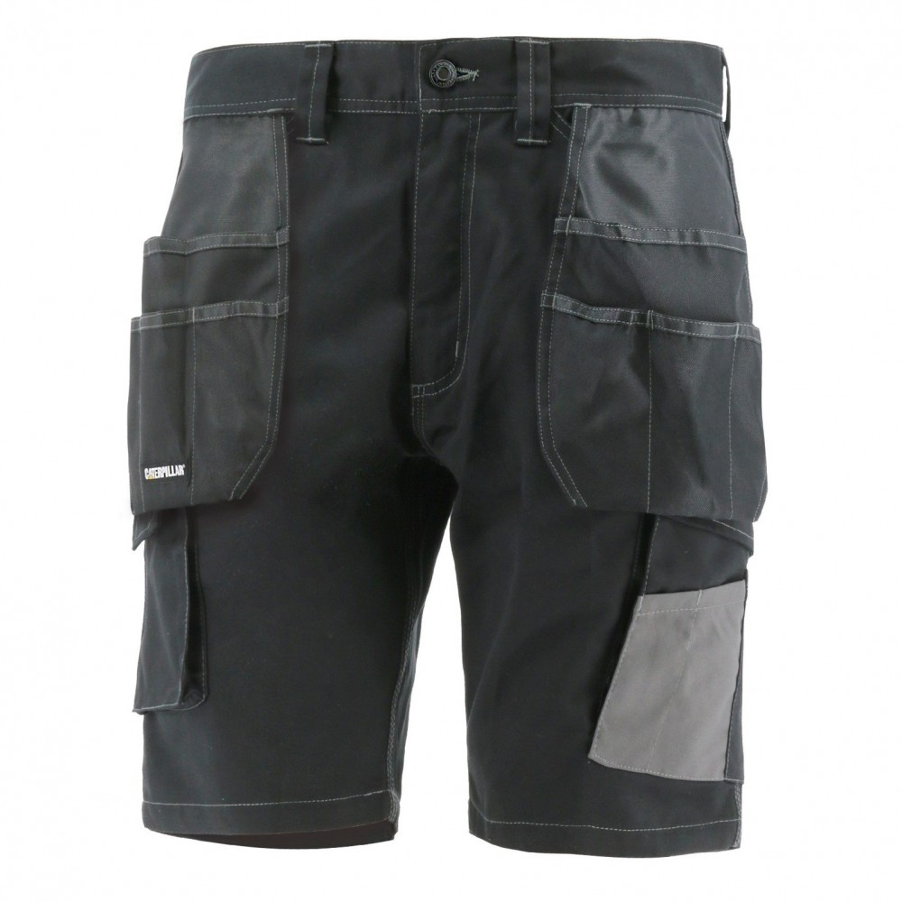 CAT Black Essentials Shorts