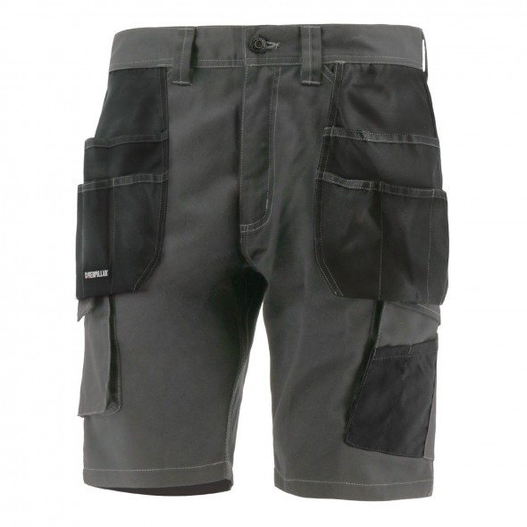 CAT Grey Essentials Shorts