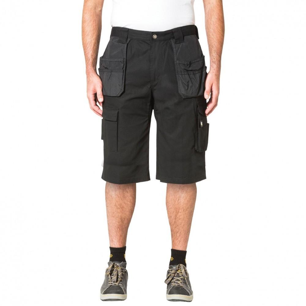 CAT Black DL Trademark Shorts