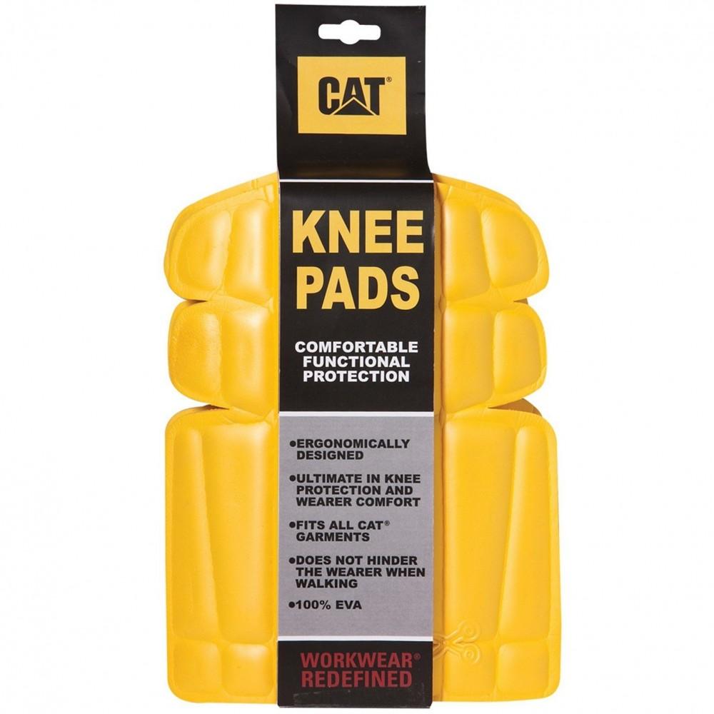 CAT Yellow Knee Pads