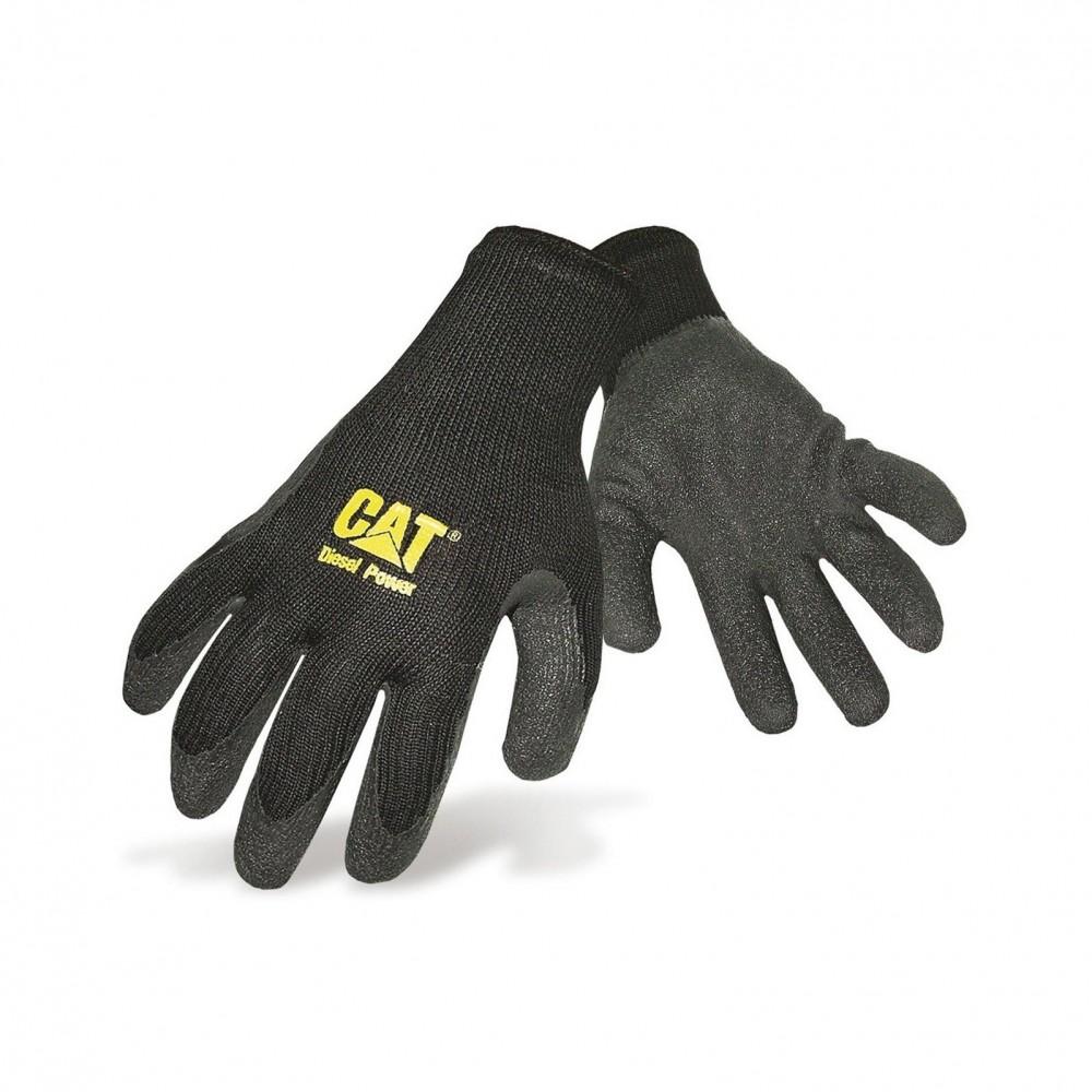 CAT Black Latex Palm Glove
