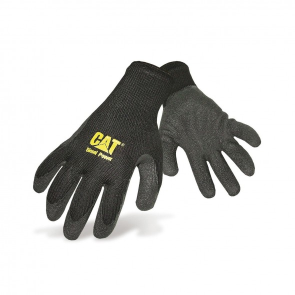 CAT Black Latex Palm Glove