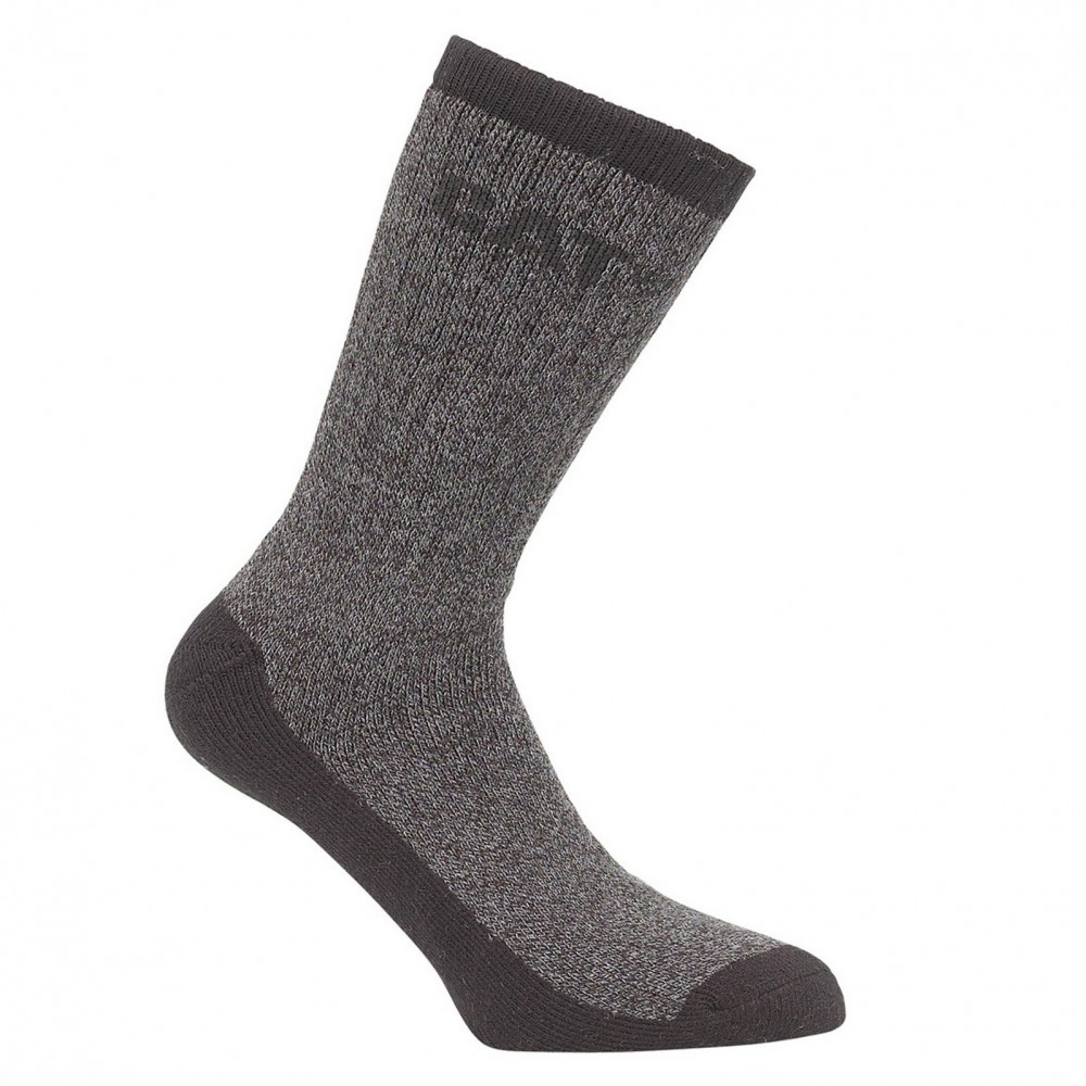 CAT Grey Thermo Socks 2-Pack