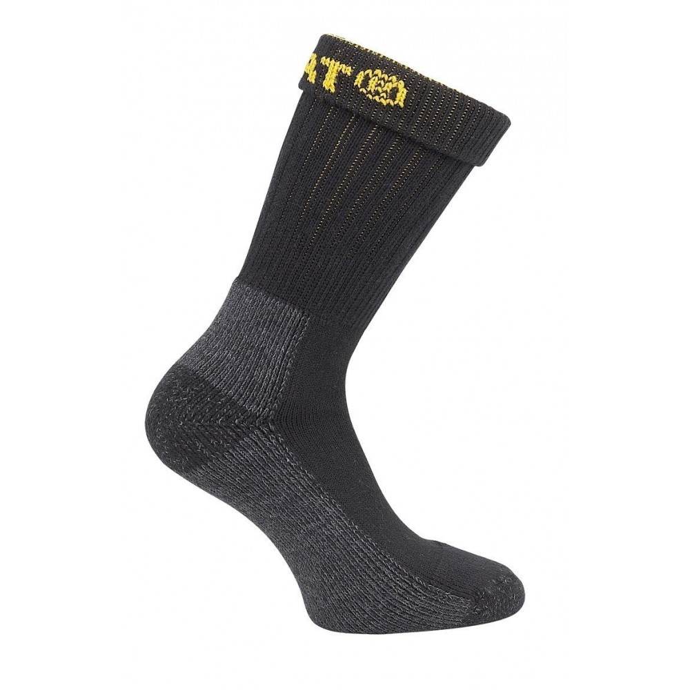 CAT Black Industrial Work Sock 2-Pack