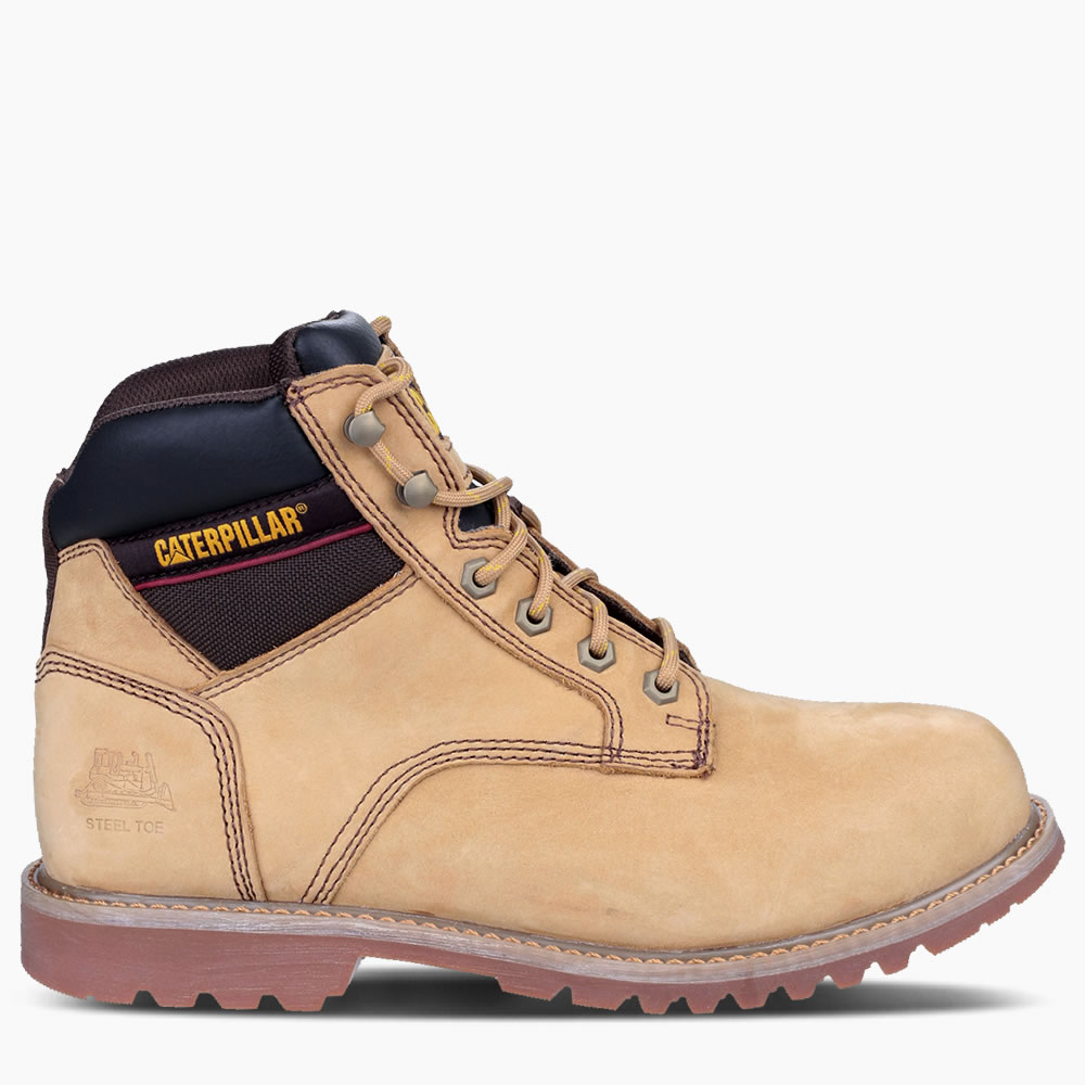 """CAT Honey Electric 6"""" Safety Boot"""
