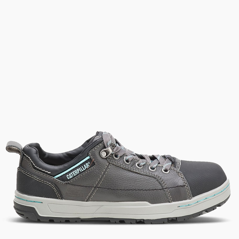 CAT Dark Grey Women's Brode Safety Trainer