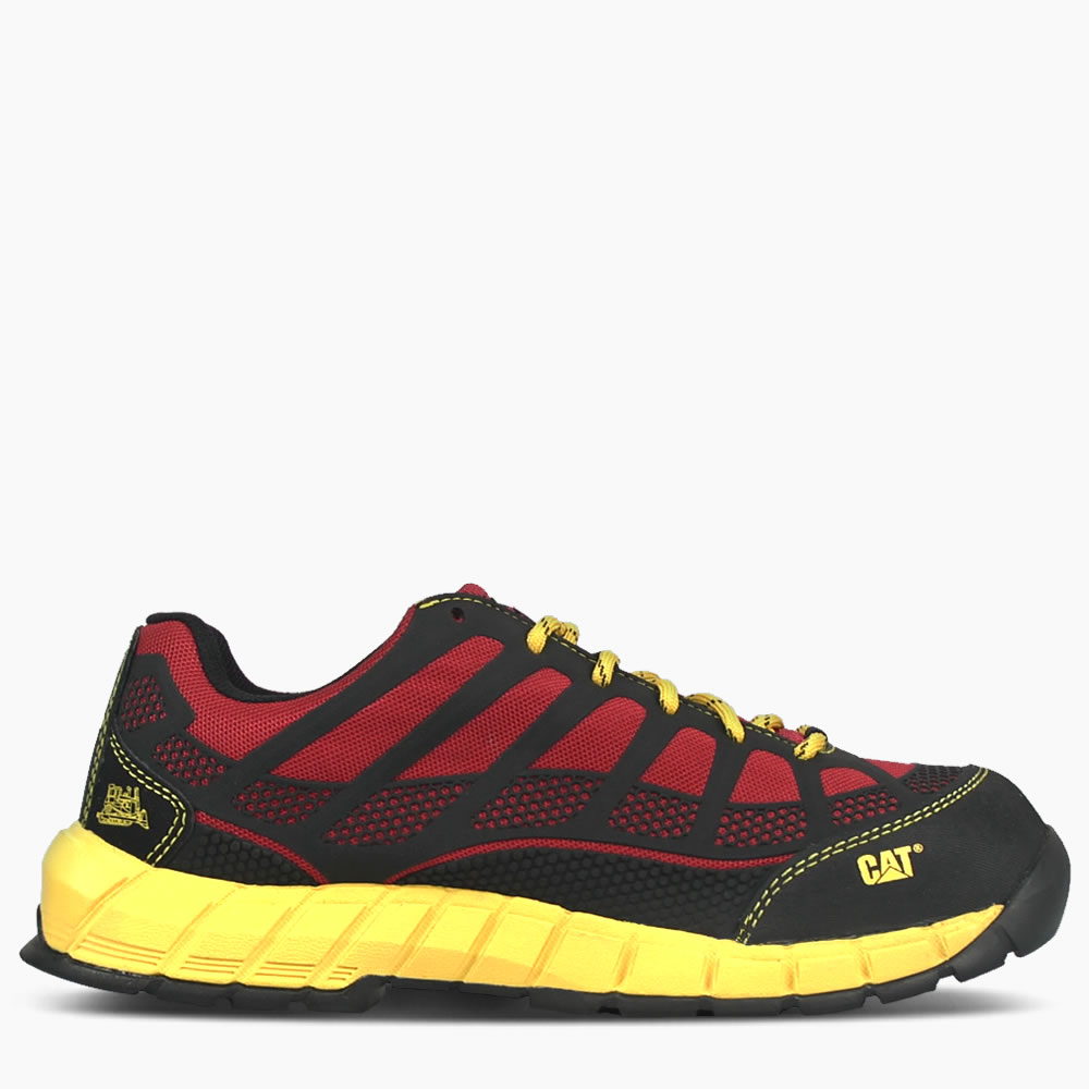 CAT Red Streamline Safety Shoe