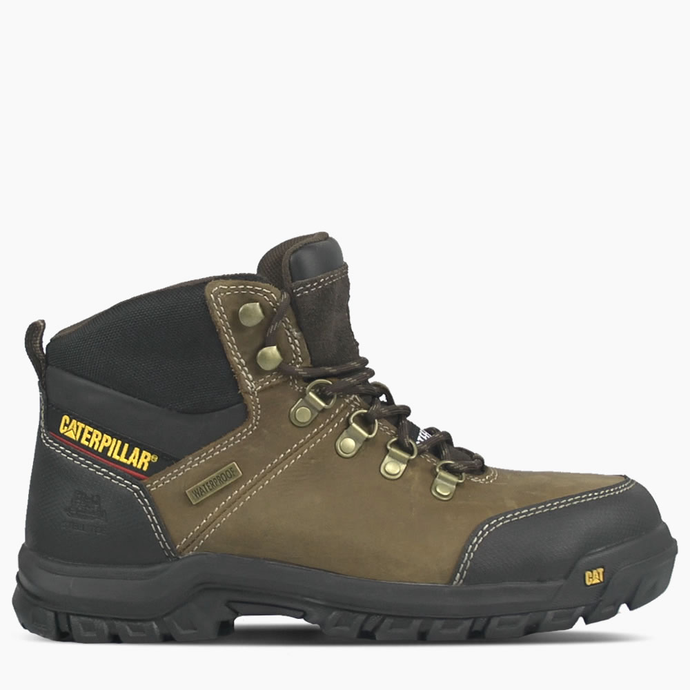 CAT Seal Brown Framework Boot ST S3 WR HRO SRA