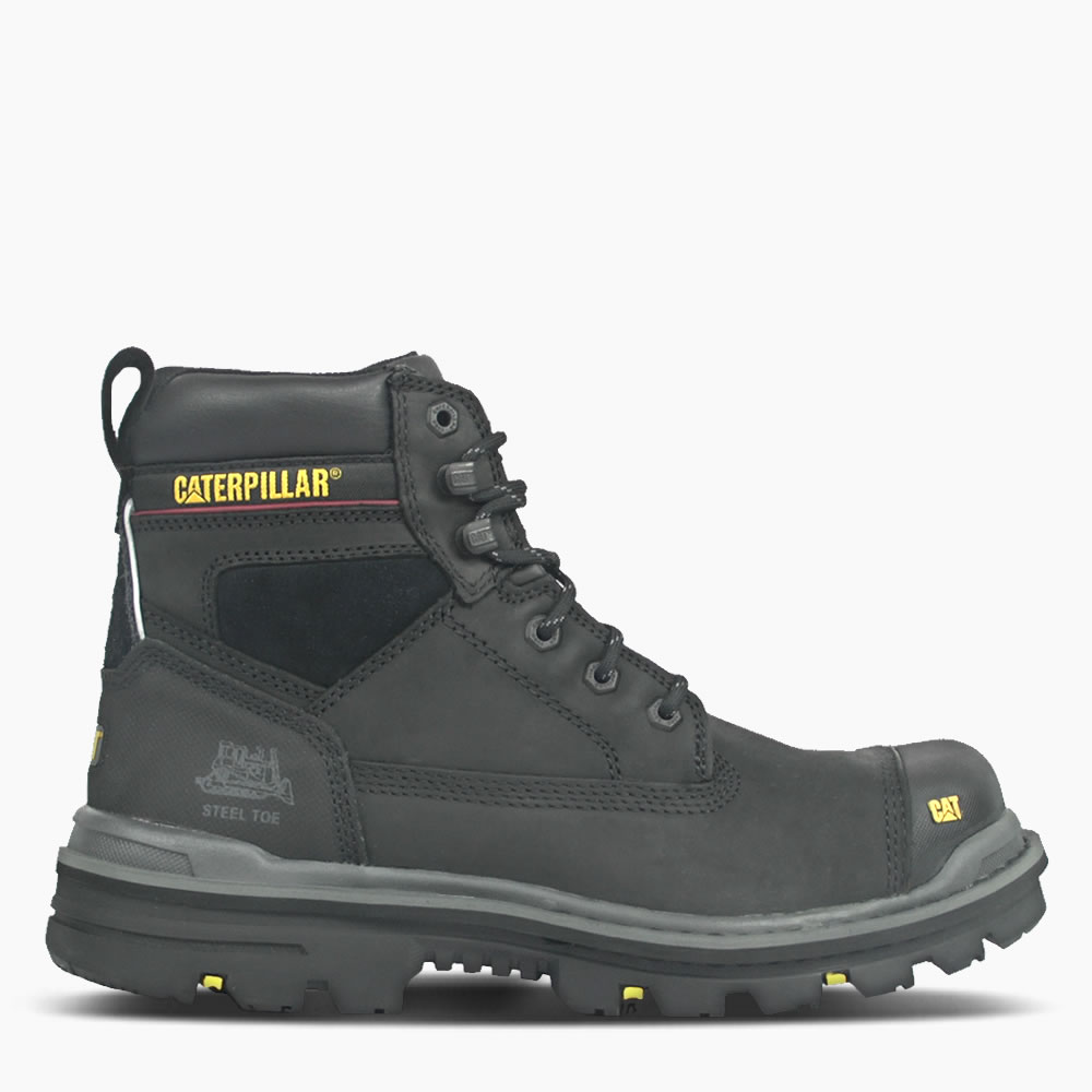 "CAT Black Gravel 6"" Safety Boot"