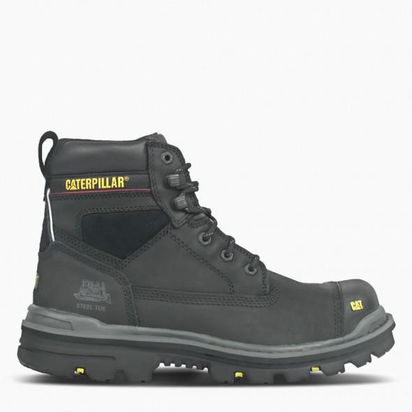 "CAT Black Gravel 6"" Safety Boot"