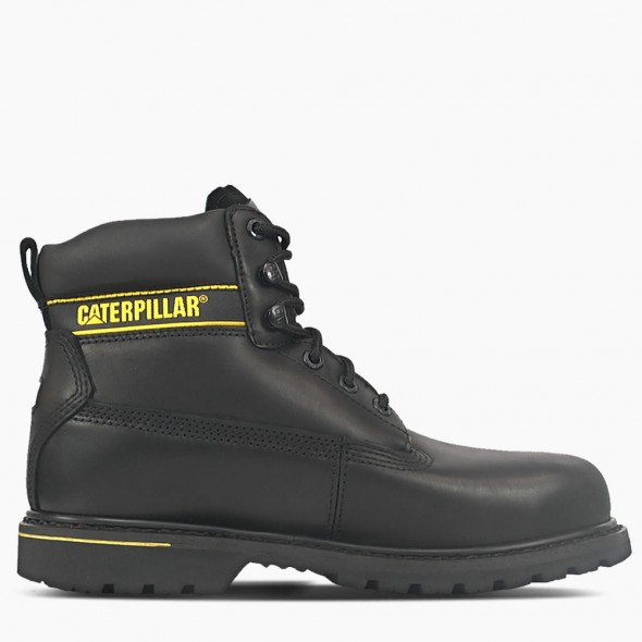 CAT Black Holton Safety Boot