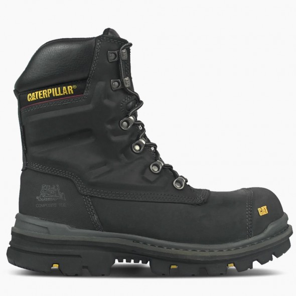 CAT Black Premier Waterproof Safety Boot