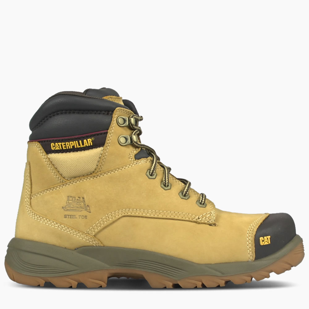 CAT Honey Reset Spiro Lace Up Waterproof Safety Boot