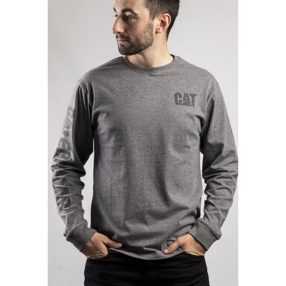 CAT Dark Grey Custom Banner T-Shirt