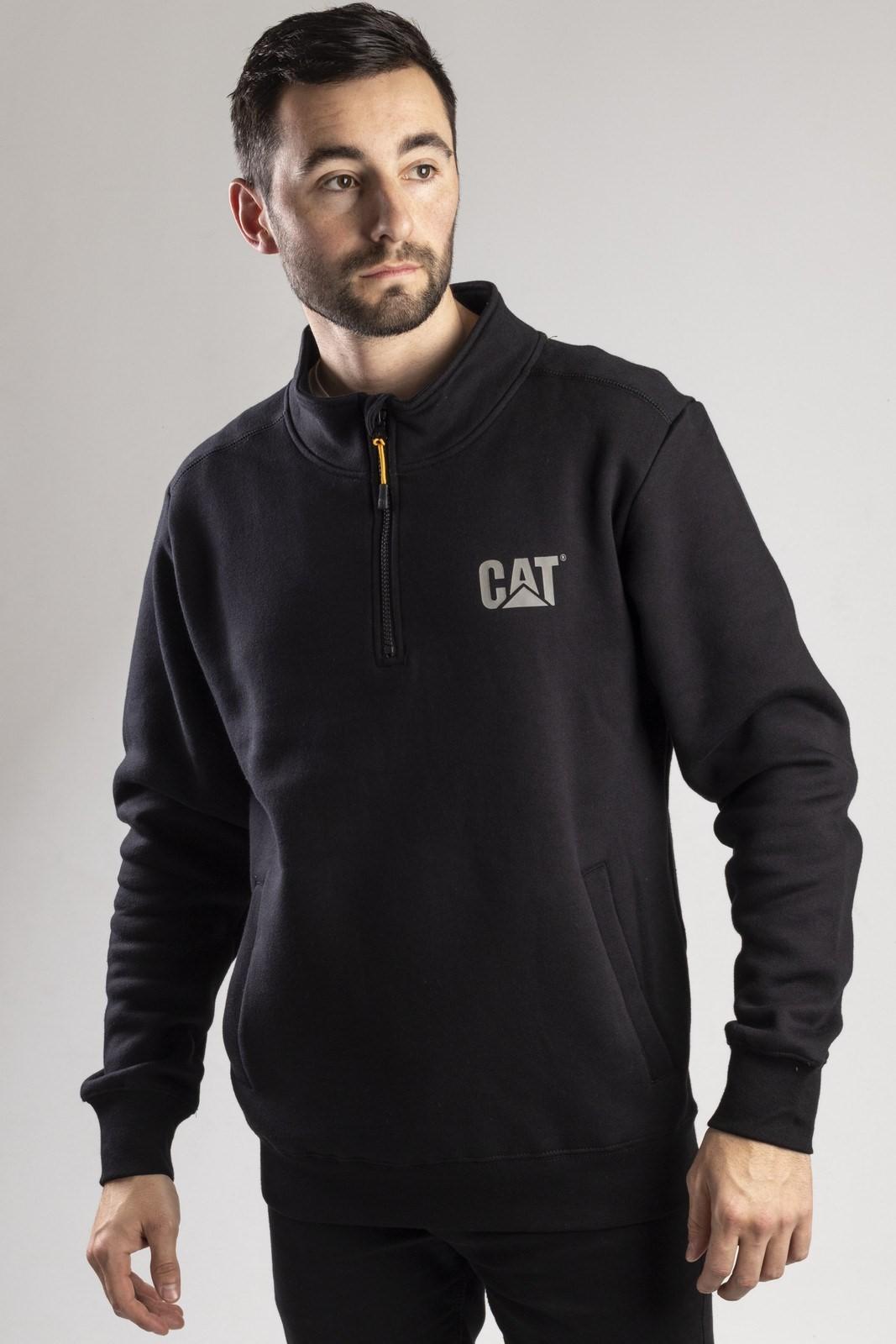 1//4 Zip Sweatshirt Caterpillar Canyon