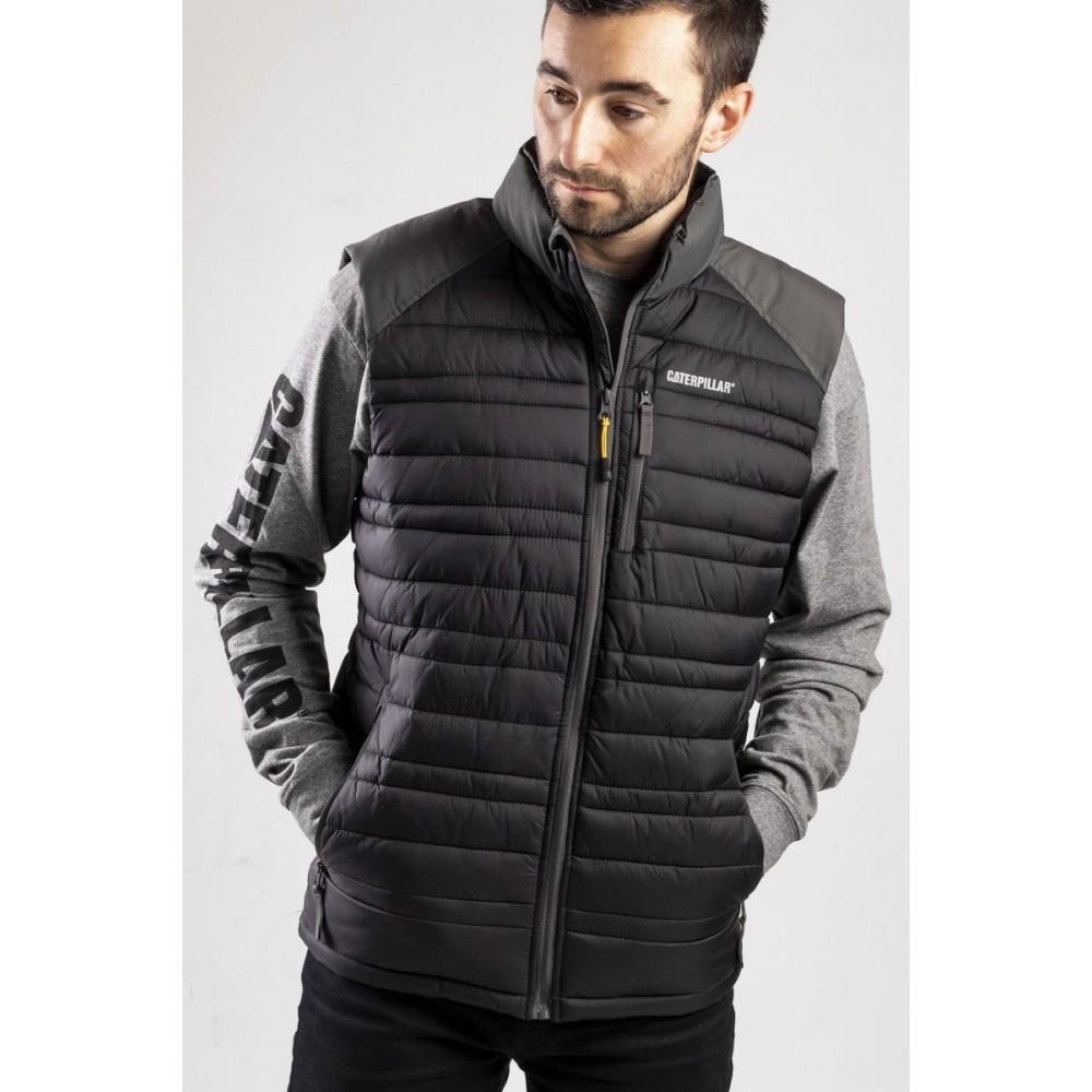 CAT Black Defender Insulated Vest