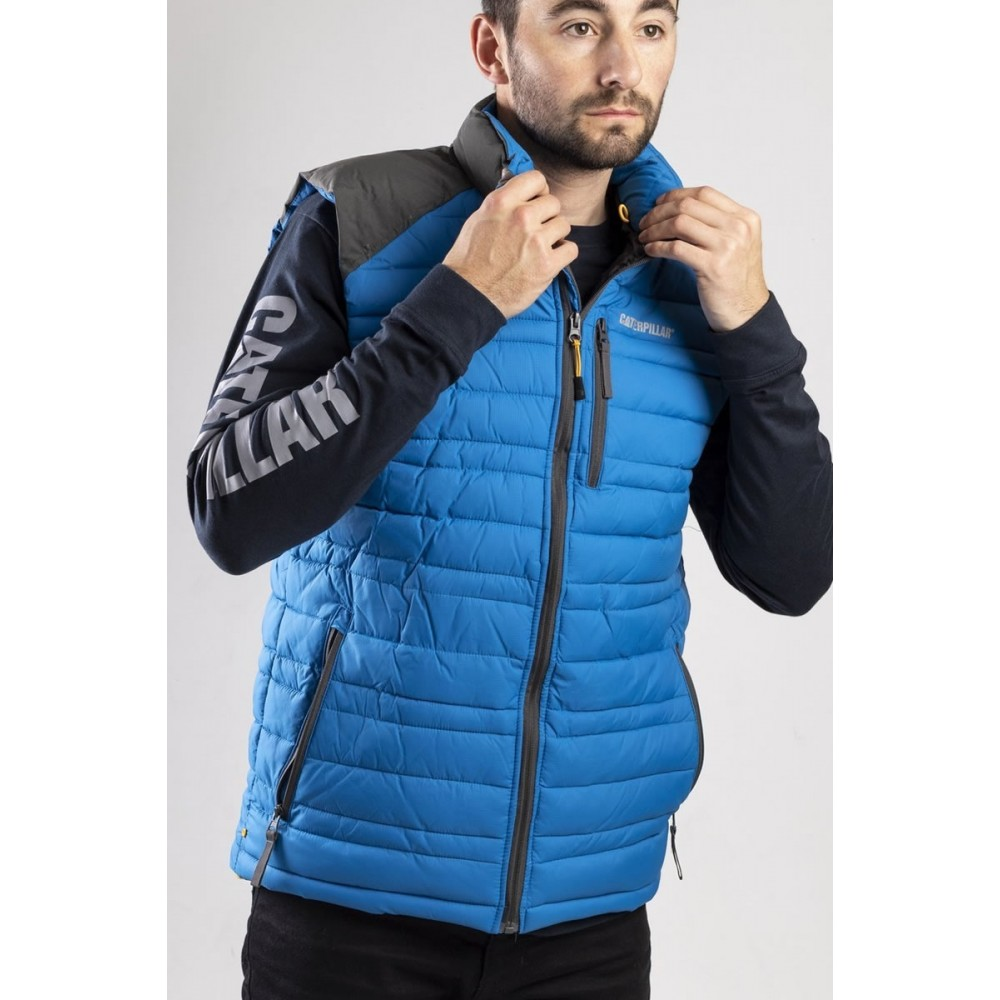 CAT Blue Defender Insulated Vest